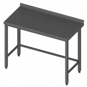 Darba galds nerūsējošā tērauda 100/60/90